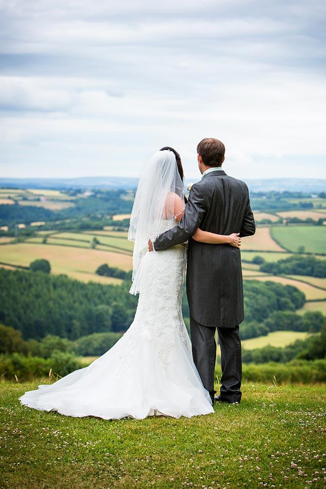 Wedding venue amazing views