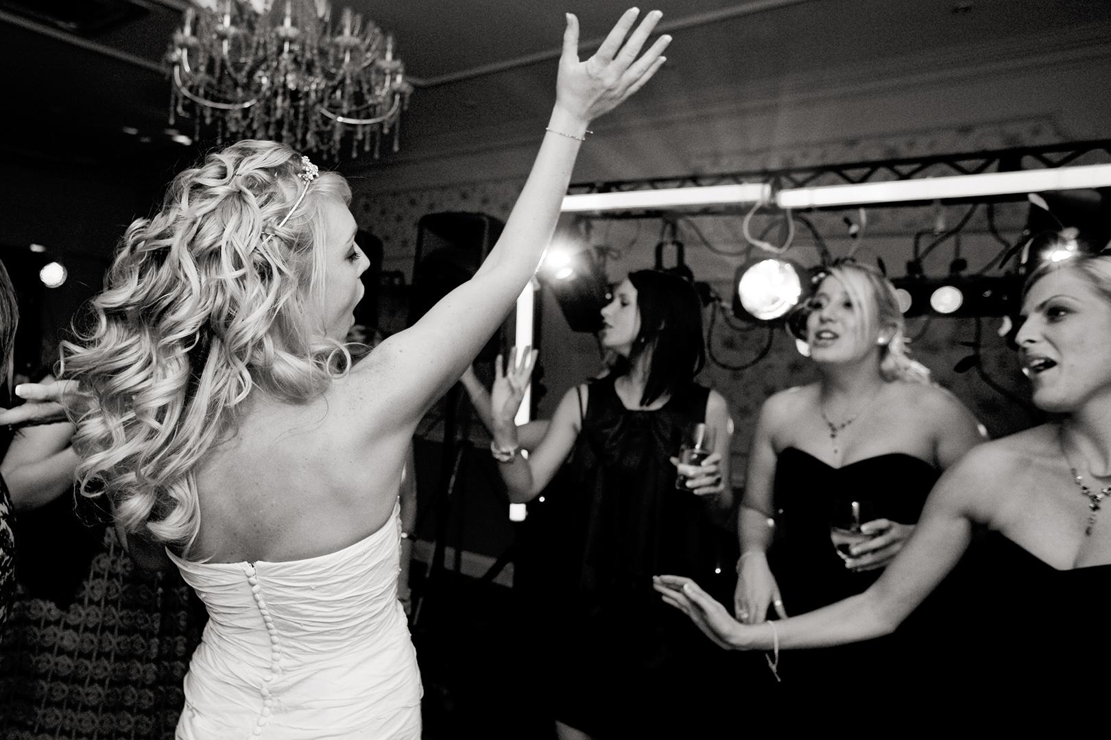 Wedding disco party